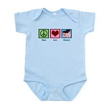 Peace Love Massage Infant Bodysuit