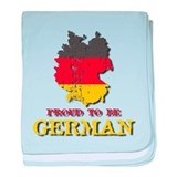 Proud to Be German baby blanket