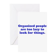 Organized People Greeting Cards (Pk of 10)