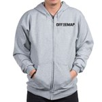 Off the Map Zip Hoodie