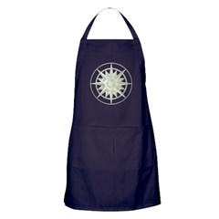Compass Rose Apron (dark)