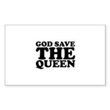 God Save the Queen (text: bla Decal