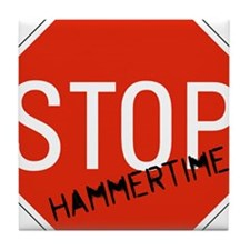 Hammer Time Tile Coaster