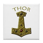 Thor's Hammer X-Gold - THOR Tile Coaster