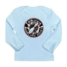 Lucky Bowling Shirt 2 Long Sleeve Infant T-Shirt