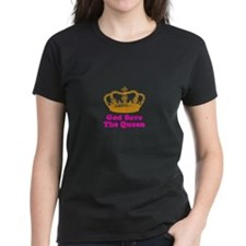 God Save the Queen (orange/pi Tee