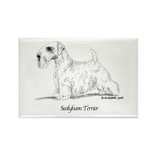 Sealyham Terrier Rectangle Magnet