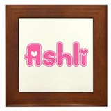 """Ashli"" Framed Tile"