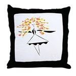 Hairiet Throw Pillow