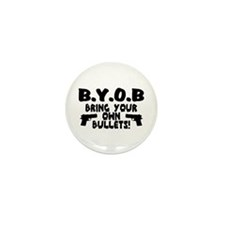 BYOB Mini Button (10 pack)