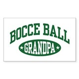 Bocce Ball Grandpa Decal