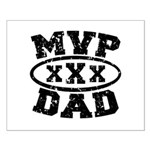 MVP Dad Father's Day Small Poster