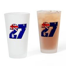 CSflag2 Pint Glass