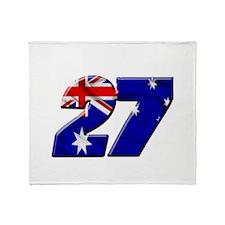 CSflag2 Throw Blanket