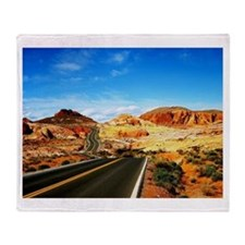 Valley of Fire Throw Blanket