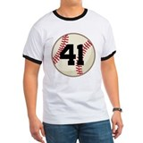 Baseball Player Number 41 Team T