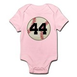 Baseball Player Number 44 Team Onesie