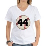 Baseball Player Number 44 Team Shirt