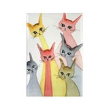 Elyria Stray Cats Magnet