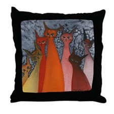 Casablanca Stray Cats Pillow
