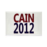 Herman Cain 2012 Rectangle Magnet
