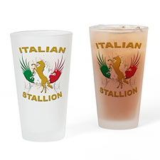 Italian Stallion Pint Glass