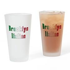 Brooklyn New York Italian Pint Glass