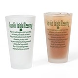 Old irish Blessing Pint Glass