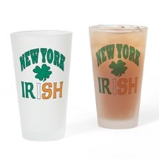 New York irish Pint Glass