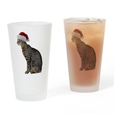 Savannah Cat Christmas Pint Glass