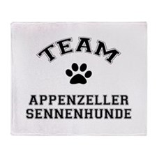 Appenzeller Sennenhunde Throw Blanket