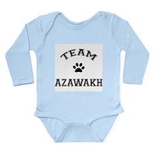 Team Azawakh Long Sleeve Infant Bodysuit