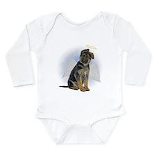 Angel German Shepherd Puppy Long Sleeve Infant Bod