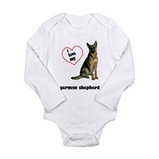 German Shepherd Lover Long Sleeve Infant Bodysuit