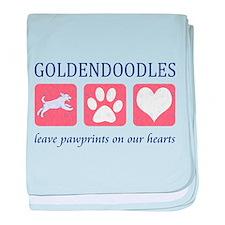 Goldendoodle Lover Gifts baby blanket