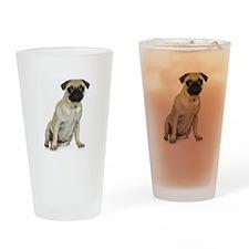 Fawn Pug Pint Glass