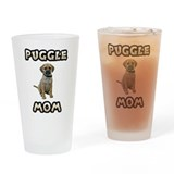 Puggle Mom Pint Glass