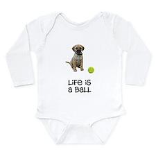 Puggle Life Long Sleeve Infant Bodysuit