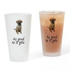 Good Puggle Pint Glass