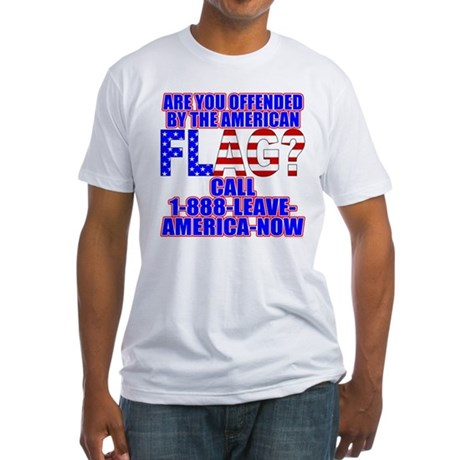 Offended By America Fitted T-Shirt
