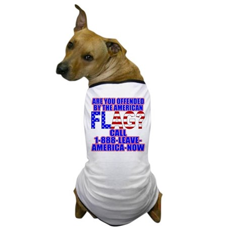Offended By America Dog T-Shirt