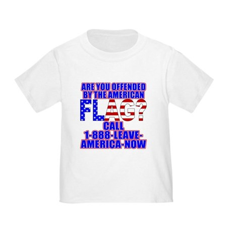 Offended By America Toddler T-Shirt