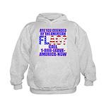 Offended By America Kids Hoodie