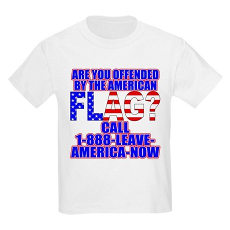 Offended By America Kids T-Shirt