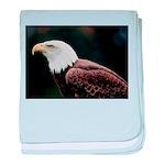 Bald Eagle Photo baby blanket