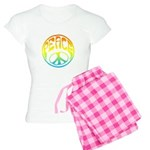 Peace - rainbow Women's Light Pajamas