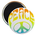 Peace - rainbow Magnet