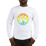 Peace - rainbow Long Sleeve T-Shirt