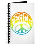 Peace - rainbow Journal