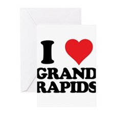 I love Grand Rapids Greeting Cards (Pk of 10)